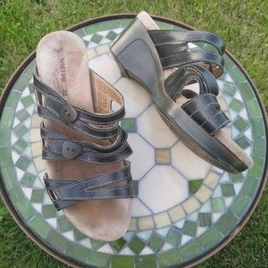 Romika wedge sandals brown size 38